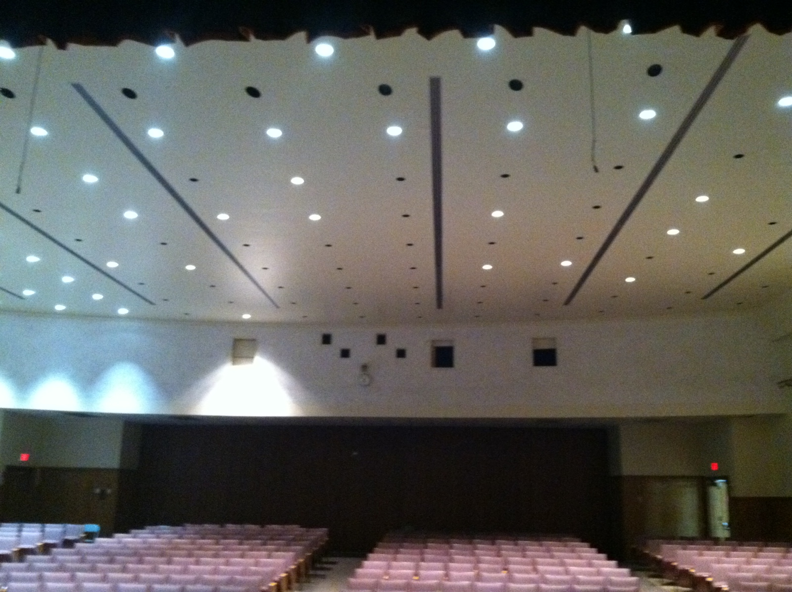 Auditorium Lighting Another Led Success Story Greentech